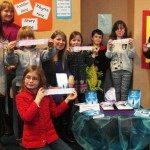 Angela James author and 'Matchbox Minis' workshop