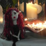Angela James author's Ember on her night vigil for the Hiroshima Peace Flame